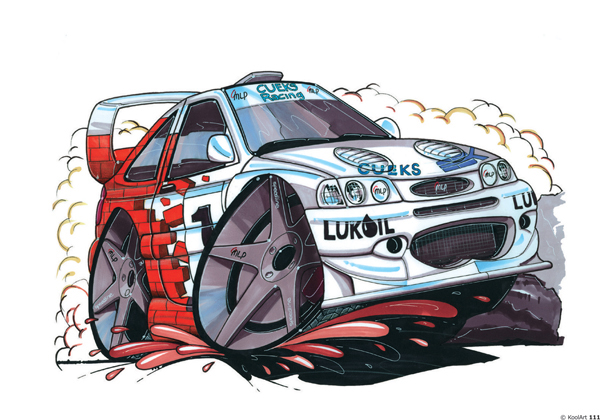 Ford Escort Rallye Blanche