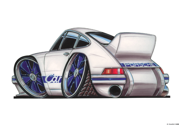 Porsche 911 Carrera Blanche
