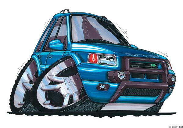 Land Rover Freelander 4X4 Bleu