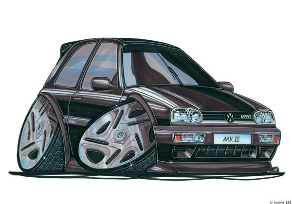 Volkswagen Golf VRG Noire