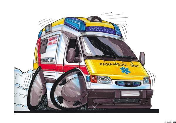 Véhicule Ambulance Ford