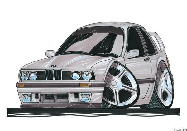 BMW 325i Grise