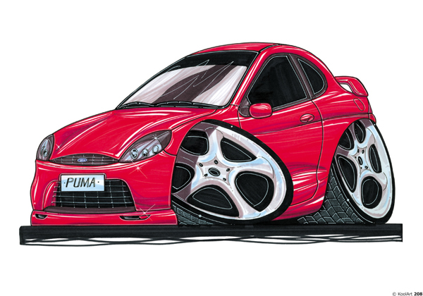 Ford Puma Sport Rouge