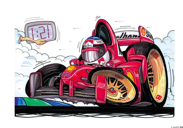 Ferrari F1 Schumi Rouge