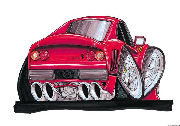 Ferrari GTO Sport Rouge