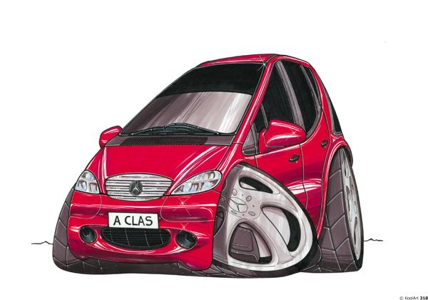 Mercedes Classe A Rouge