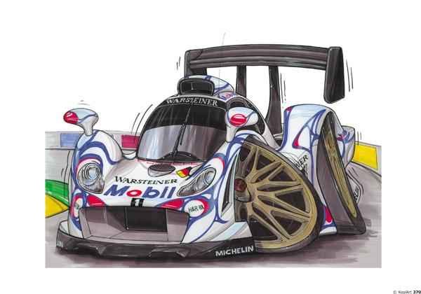 Porsche F1 GT Blanche