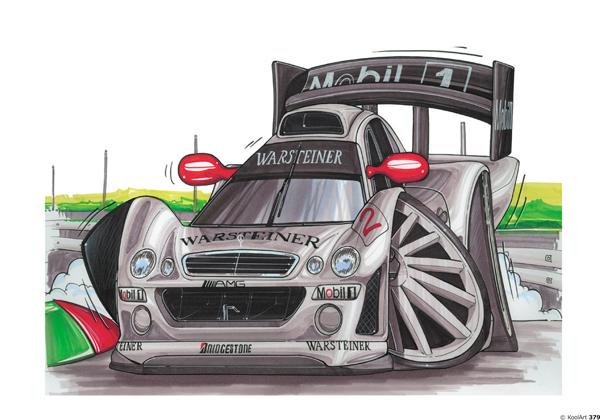 Mercedes F1 CLK LM Grise
