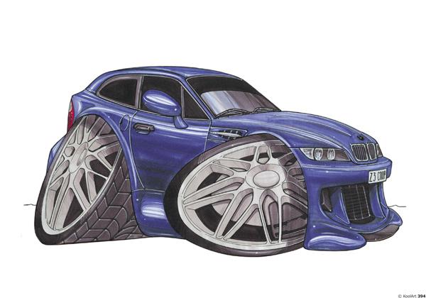 BMW 3 Bleue