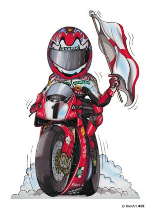 Ducati Racing Rouge