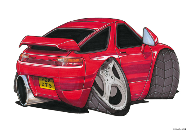 Porsche 928 Sport Rouge