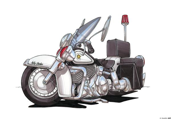 Harley Davidson Police