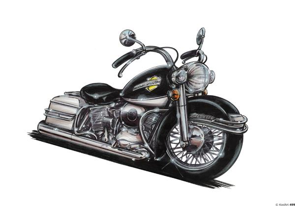 Harley Davidson Electra Noire