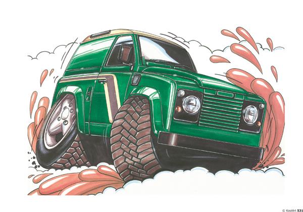 Land Rover Defender Vert