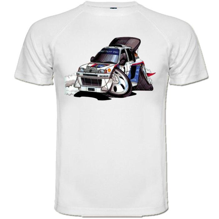 tee shirt peugeot 205 turbo 16 t16