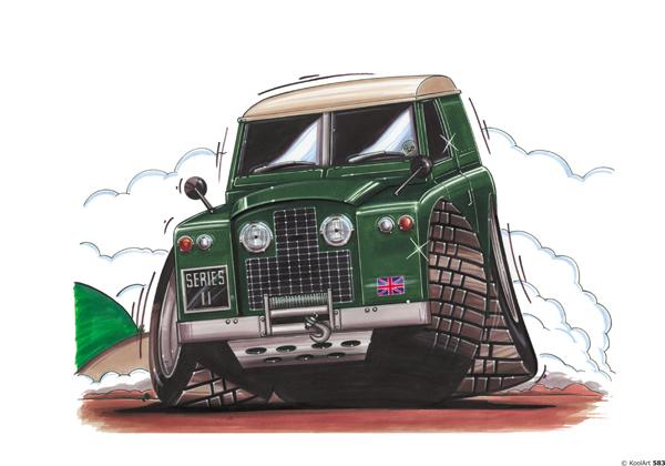 Land Rover Series Vert