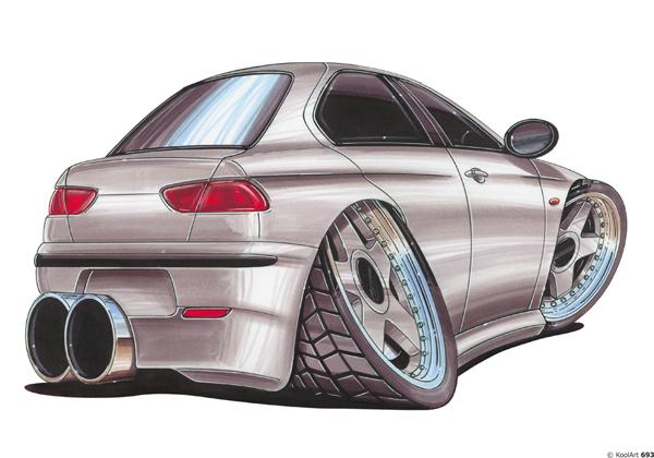 Alfa Roméo 156 Grise
