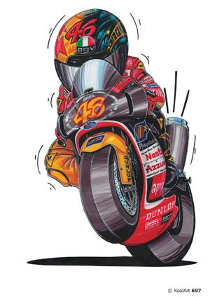 Aprilia Valentino Rossi 46
