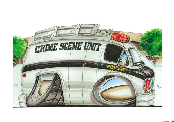 Fourgon Crime Scene Unit