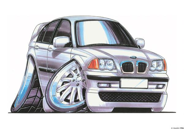 BMW M3 Grise