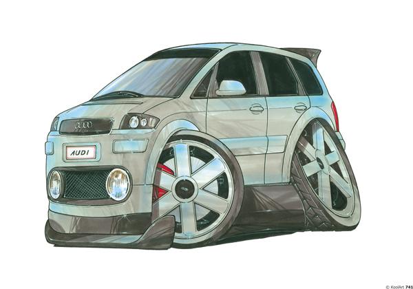 Audi A2 Verte Monospace