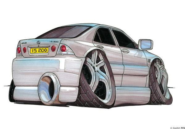 Lexus IS200 Grise