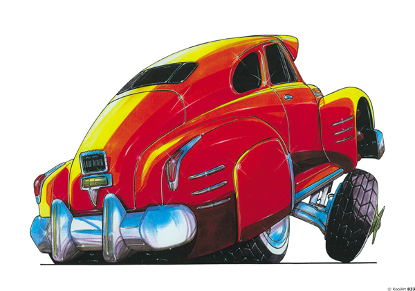 Cadillac Low Rider Orange