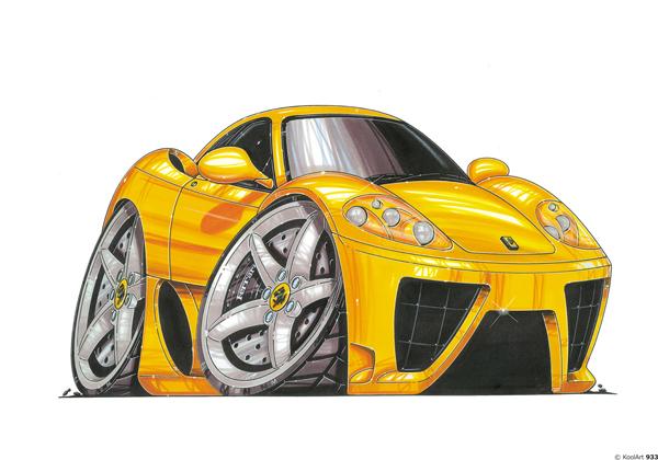 Ferrari Maranello Jaune