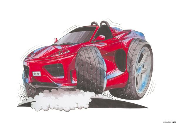 Ferrari 360 Cabriolet Rouge