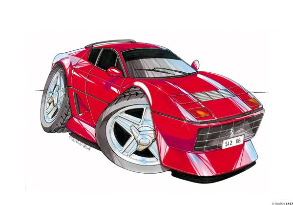 Ferrari 512 BB Rouge