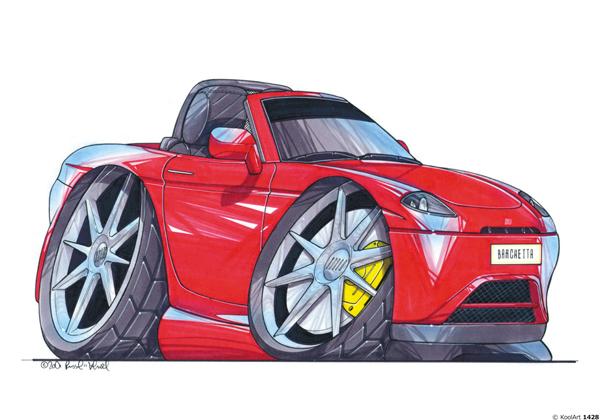 Fiat Barchetta Cabriolet Rouge