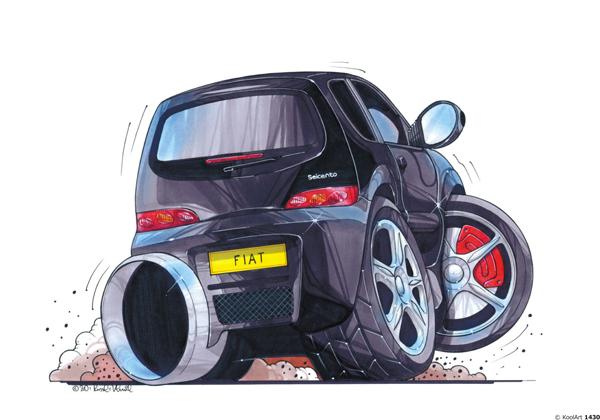 Fiat Seicento Noire