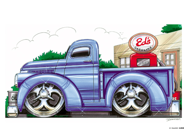 Chevrolet Pickup 46 Bleu
