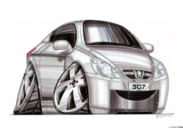 Peugeot 307 Grise