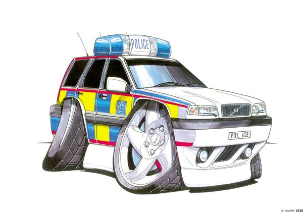 Volvo C70 Police
