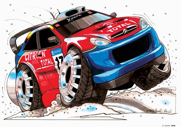 Citroen Xsara Rallye Rouge