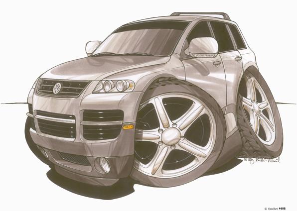 Volkswagen Touareg Gris