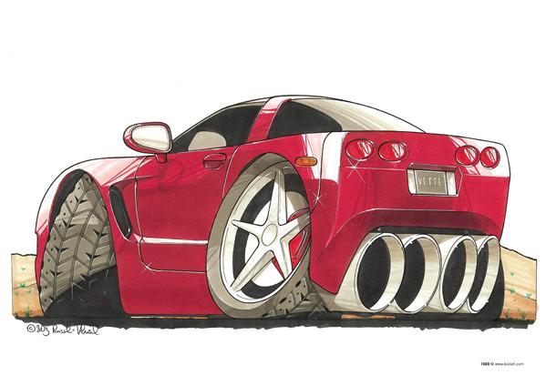Chevrolet Corvette Rouge