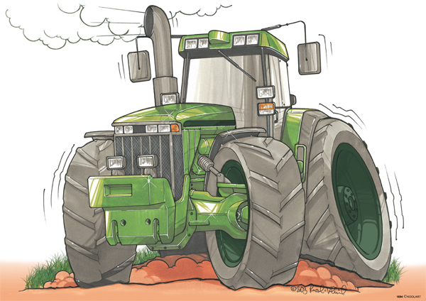Tracteur J. Deere