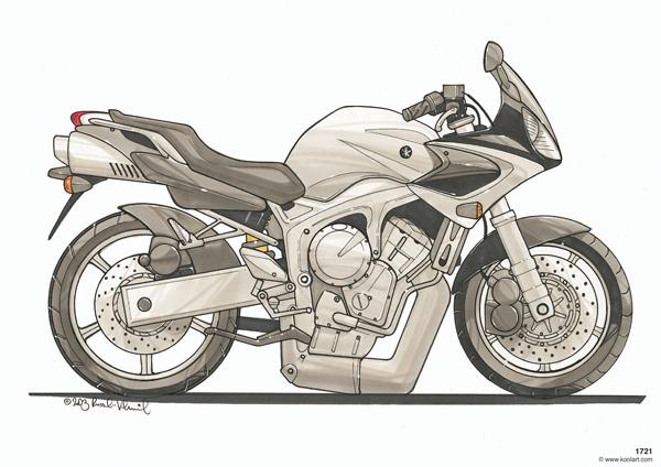 Yamaha Fazer Grise
