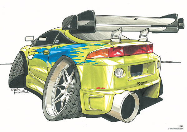 Mitsubishi Fast & Furious