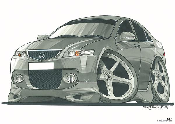 Honda Accord 4P Grise