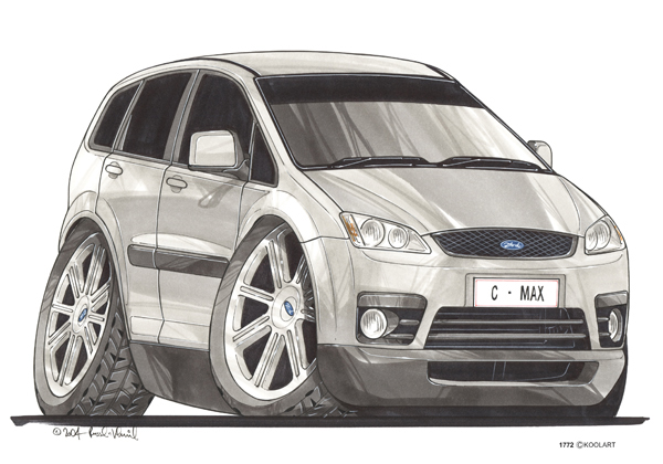 Ford C Max Grise