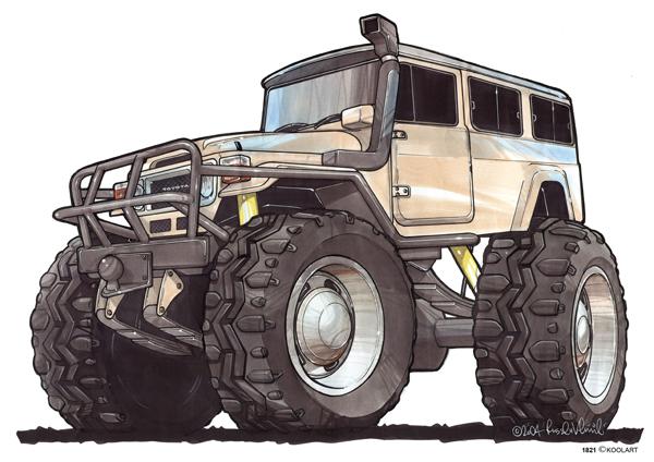 Toyota Land Cruiser BJ Beige
