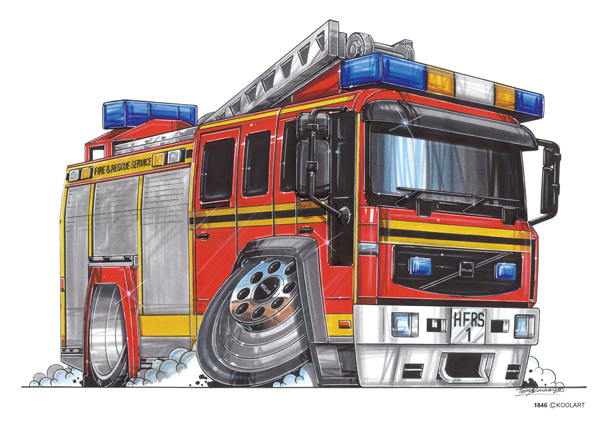 Camion Pompier Volvo