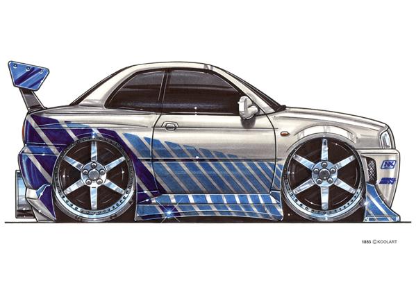 Nissan Skyline F&F