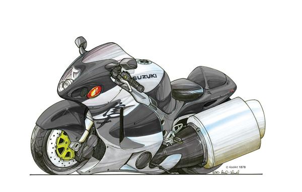 Suzuki Hayabusa Grise