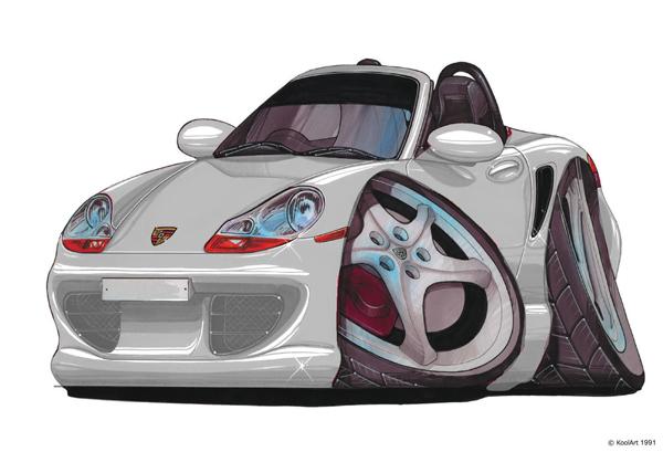 Porsche Boxster Grise