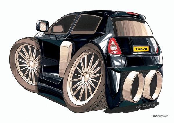 Renault Clio V6 Arriete Noire