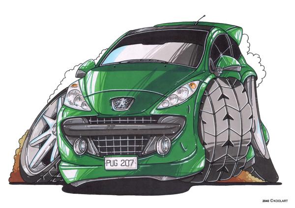 Peugeot 207 Verte
